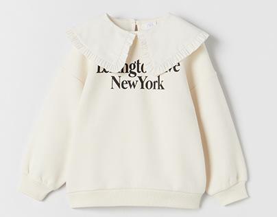 Zara Girl - Sweatshirt graphic FW '21
