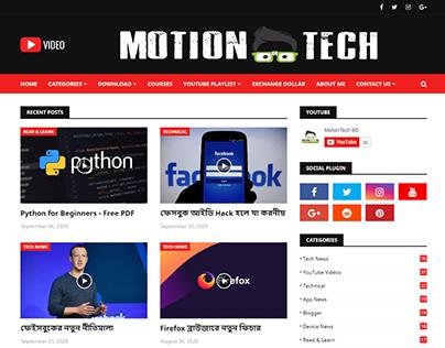 MotionTech BD - Blogger Website