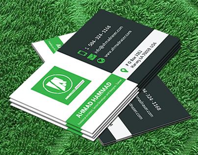 Ahmad Hammad Business Card