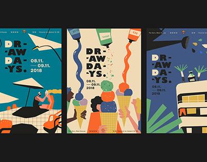 DrawDays Festival Branding