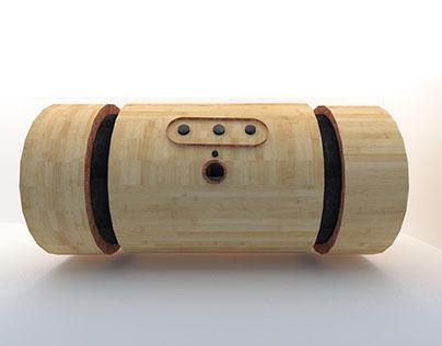 Caixa de Som Bambu