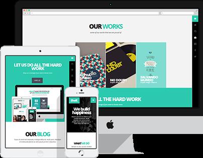 Shelf - Responsive WordPress Theme