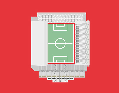 Football Stadium Illustrations