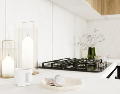 Дизайн-проект кухни в частном доме