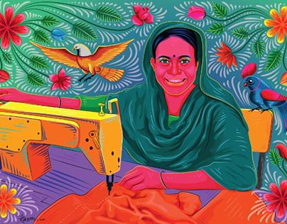 Bangladeshi Garments Worker