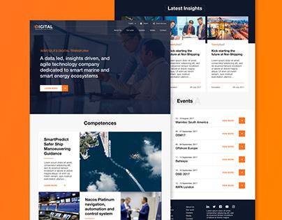 Wärtsilä Digital Microsite