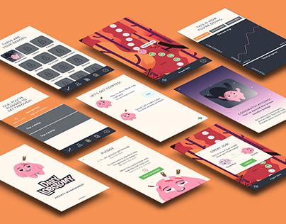 Daily Lobotomy - UI Design - Bachelor Thesis