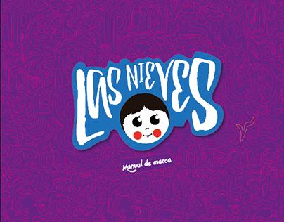 Las nieves branding