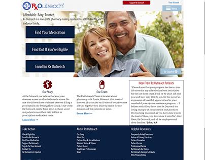 Rx Outreach redesign
