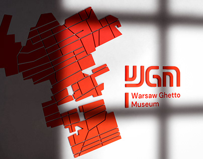 Identity for Warsaw Ghetto Museum