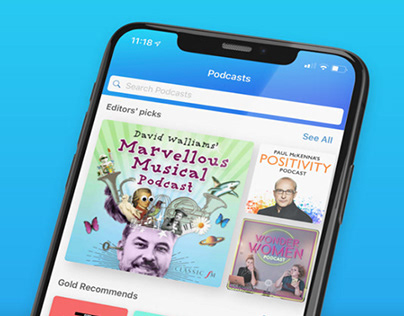Podcasts on Global Player