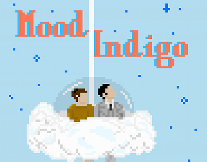 Pixel Art, Mood Indigo