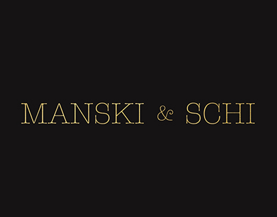 Logo + Branding - Manski & Schi