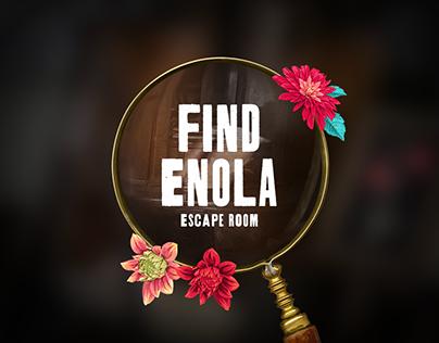 Enola Holmes Escape Room Site