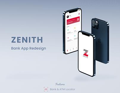 Zenith Bank app case study (A redesign )