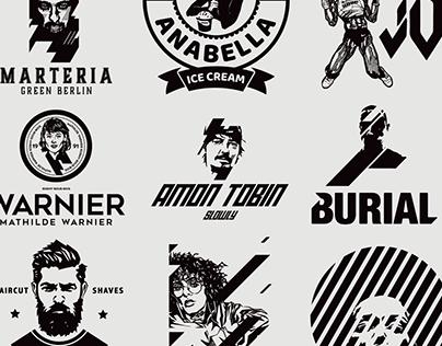Selected Logo Works//Portrait Series II