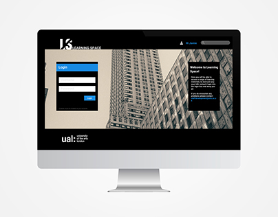 Learning Space Website UAL