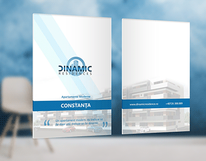 Branding and Company Folder for Real Estate Developer