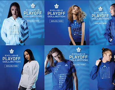 Toronto Maple Leafs Playoffs Collection Launch