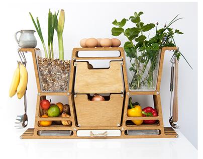 LarderBox  Food Storage Unit