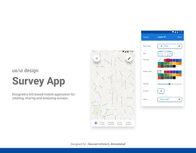 UX/UI Design Survey App