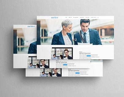 HR Solution Web UI/UX