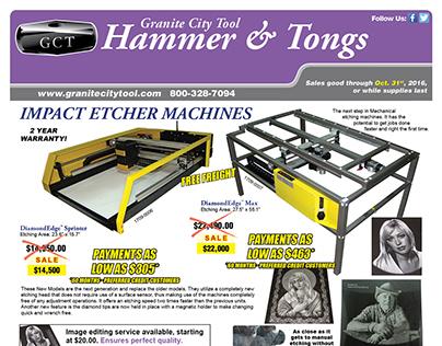 Aug.-Oct. Monument Sales 2016 Granite City Tool Flyer