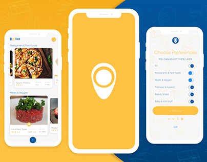 Delivery App On-boarding