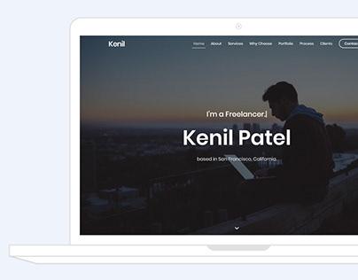 Personal Portfolio - Kenil
