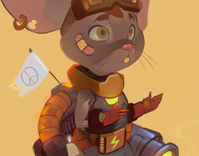 Character Design Challenge!! Mouse Warrior