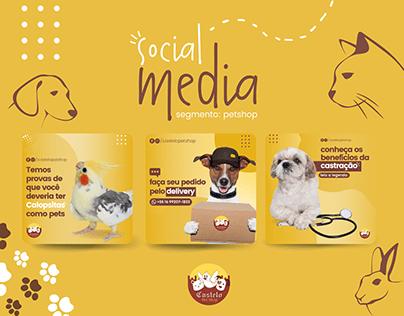 Social Media - PetShop