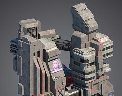 VR - FUTURE KE 2101 - 3D game enviroment/Martin Sič