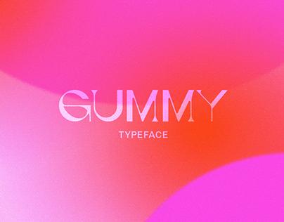 Gummy Typeface Experiment