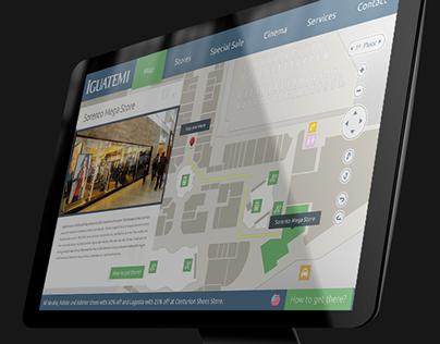 Iguatemi Touch Screen Guide
