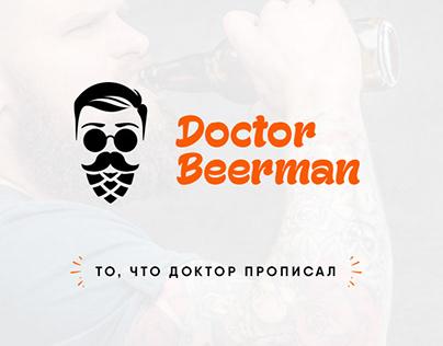 Doctor Beerman logo