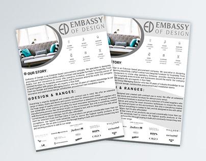 web flyer design