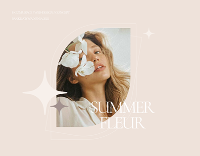 Summer Fleur | E-commerce | Заказ цветов