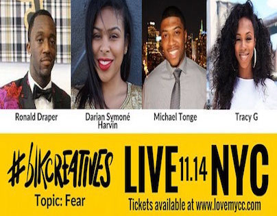 LIVE TWEET: NYC #BLKCREATIVES EVENT 11/14/15