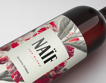 Naïf & Intro wine labels