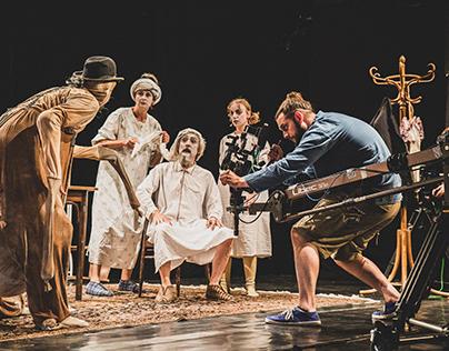 Proměna - Divadlo Facka | divadelní film