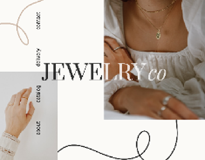 Landing for jewelry