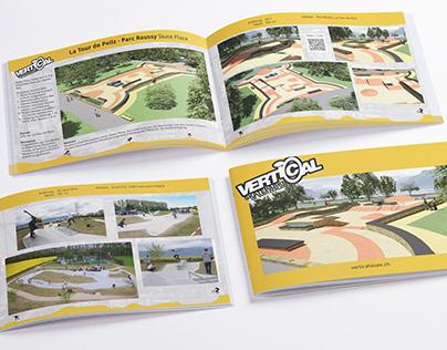 Skateparks Brochures For Vertical Technik AG