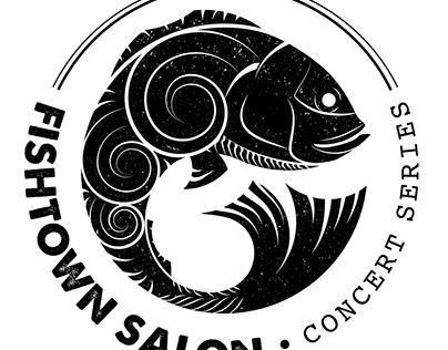 Fishtown Salon logo design