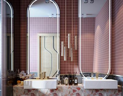 THE SUMMER HOUSE - Girl Bathroom