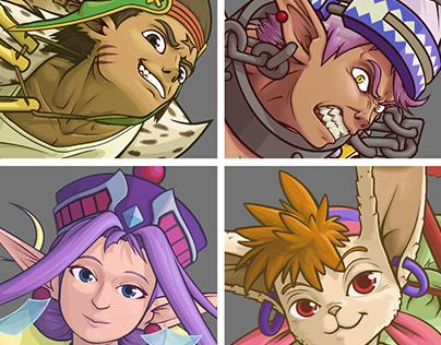 Grandia Characters Redone 2