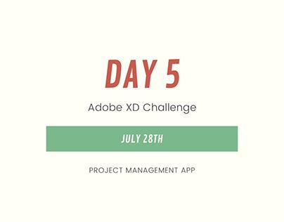 Project Management App Design