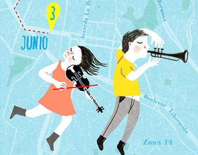Guatemala's Maps (Magazine illustration)