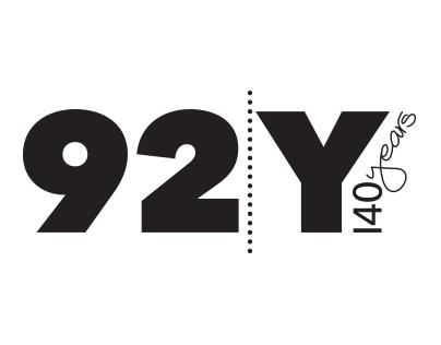 92nd Street Y 140 years celebratory logo