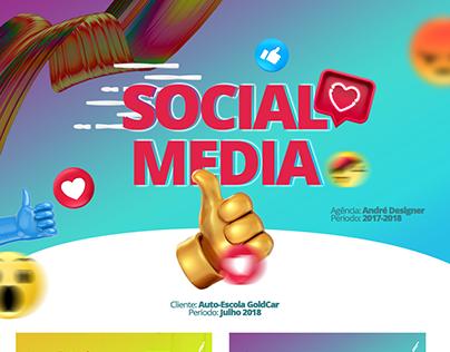 Social Media   Auto-escola GoldCar 2018