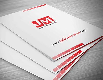 Identidad corporativa JM Gestión Inmobiliaria